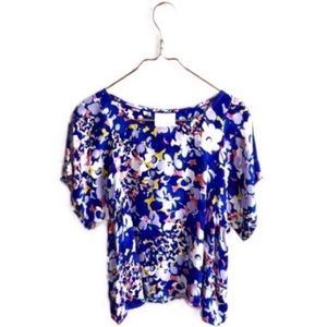 Anthropologie Maeve • Milia Floral Swing Blouse.